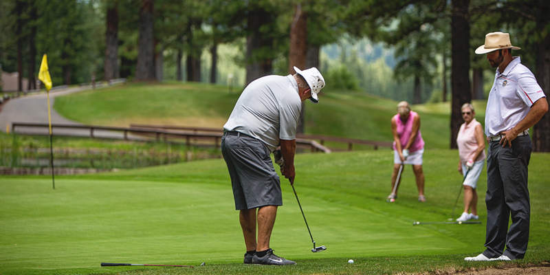 PRIVATE GROUP LESSONS PLUMAS PINES GOLF