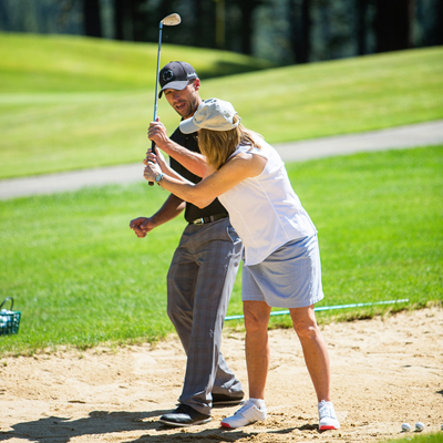 golf lessons at plumas pines