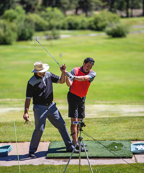 golf lessons with video plumas pines