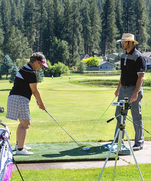video golf lessons graeagle