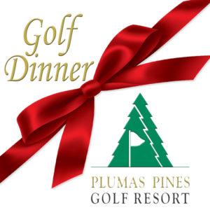 Golf & Dinner Gift Certificates